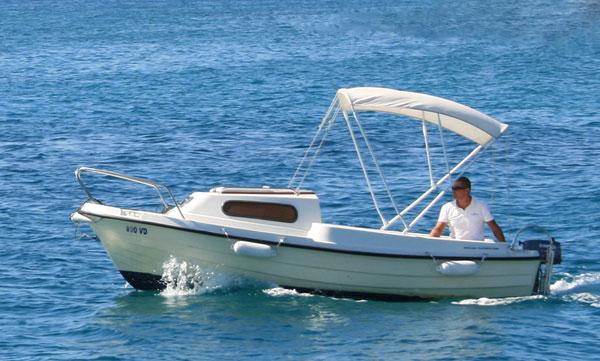 Rent a Boat Vodice Adria 500
