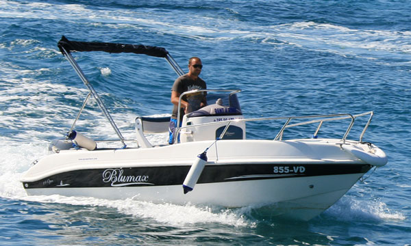 Rent a Boat Vodice BlueMax 550 Open